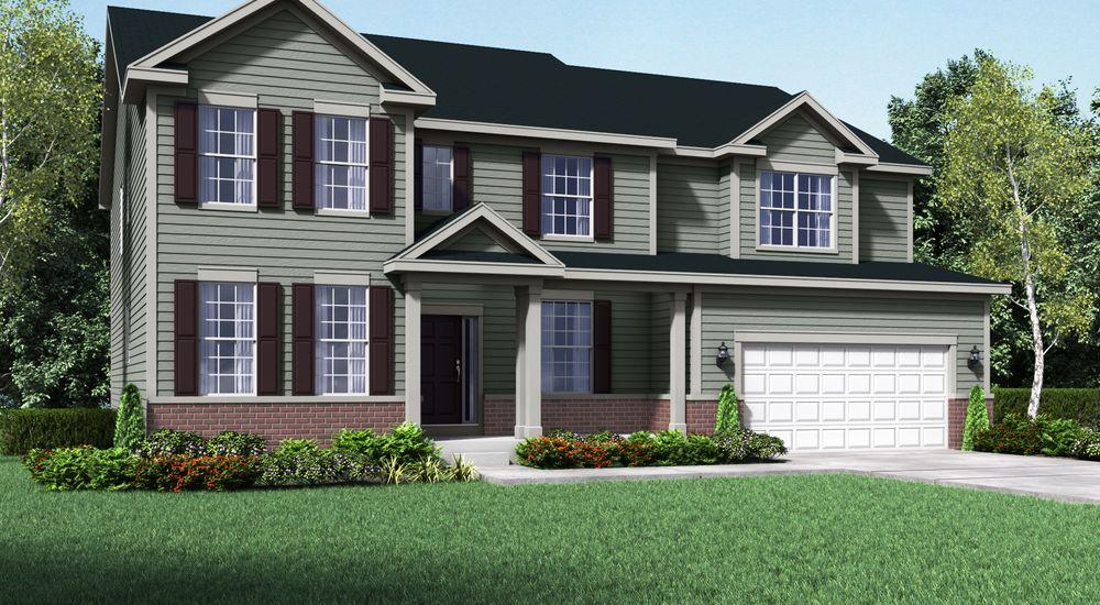 Jensen II New Home Floor Plan – William Ryan Homes Floor Plans