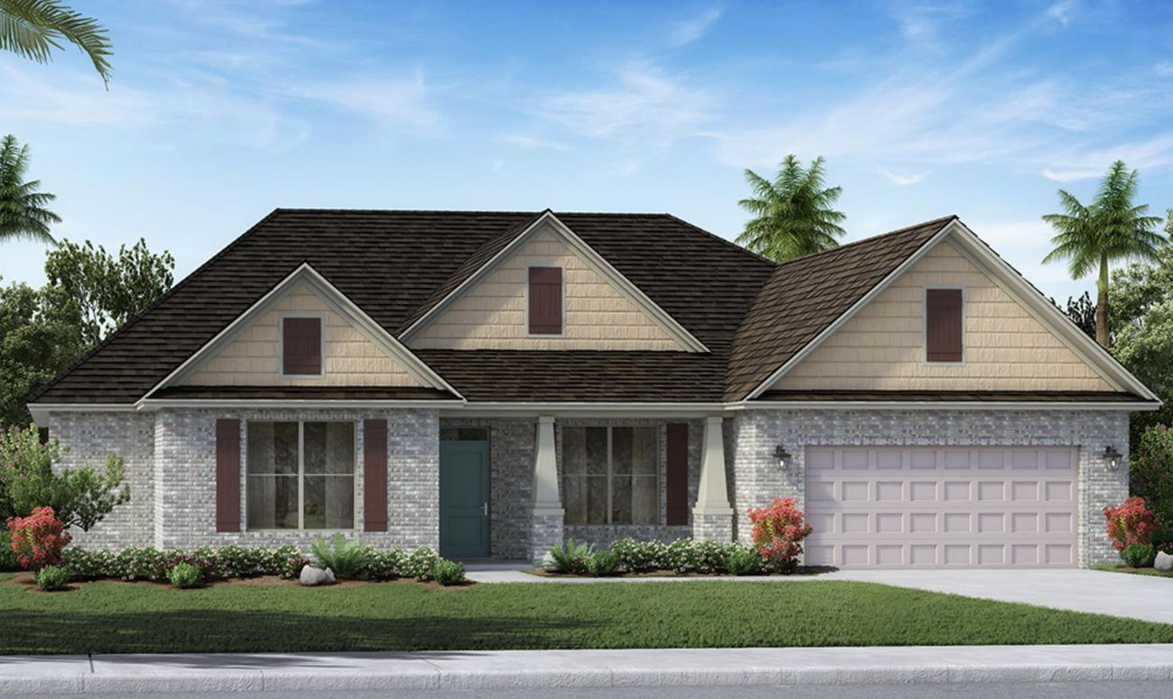 The Lilac A Floor Plan In Hammock Bay Holiday Builders