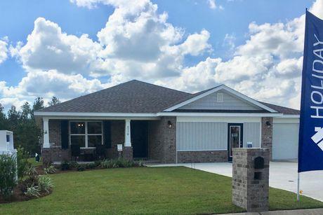 Milton Florida Map.Milton Fl New Homes Holiday Builders